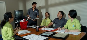 training for janitorial service team in Vancouver